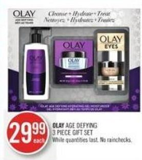 Olay Age Defying 3 Piece Gift Set