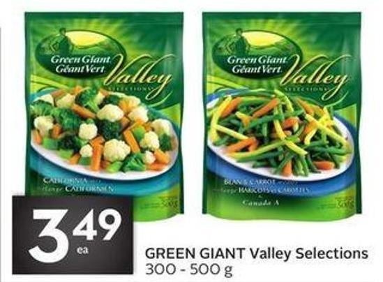 Green Giant Valley Selections