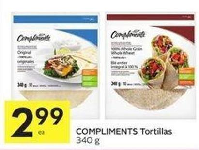 Compliments Tortillas