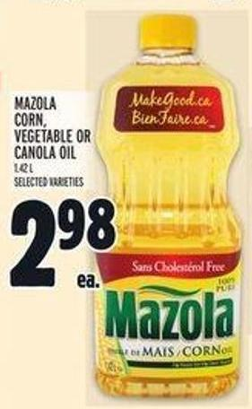 Mazola Corn - Vegetable Or Canola Oil