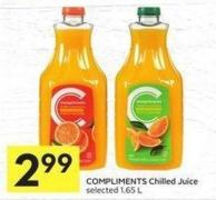 Compliments Chilled Juice Selected 1.65 L