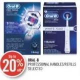 Oral-b Professional Handles/refills Selected