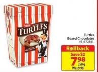 Turtles Boxed Chocolates