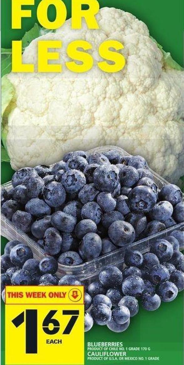 Blueberries Or Cauliflower
