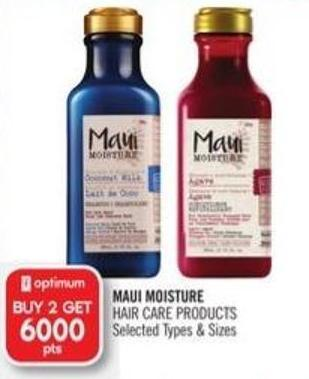 Maui Moisture Hair Care Products