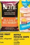 Kettle Potato Chips - 170/220 g