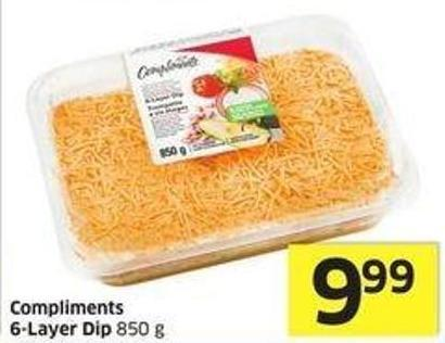Compliments 6-layer Dip 850 g
