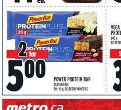 Power Protein Bar Gluten Free