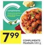 Compliments Meatballs 680 g