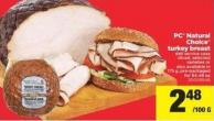 PC Natural Choice Turkey Breast - 175 g