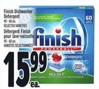 Finish Dishwasher Detergent