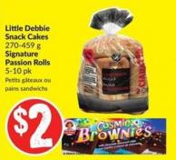 Little Debbie Snack Cakes 270-459 g Signature Passion Rolls 5-10 Pk