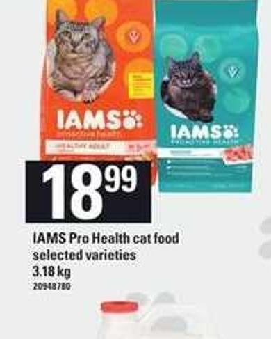 Iams Pro Health Cat Food - 3.18 Kg