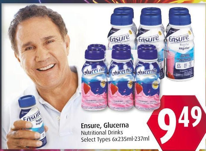 Ensure - Glucerna Nutritional Drinks