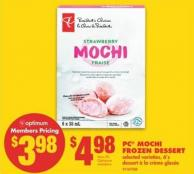 PC Mochi Frozen Dessert - 6's