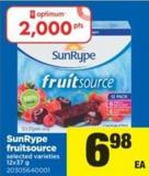 Sunrype Fruitsource - 12x37 g