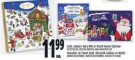 Lindt - Cabdury Dairy Milk Or Nestlé Advent Calendar