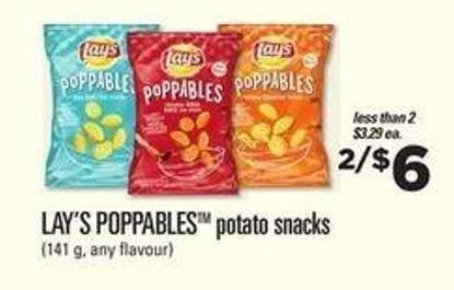 Lay's Poppablestm Potato Snacks - 141 g
