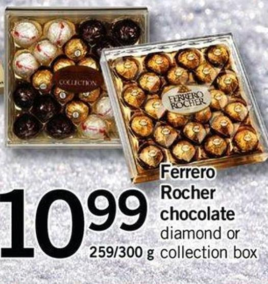 Ferrero Rocher Chocolate - 259/300 G