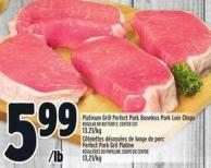 Platinum Grill Perfect Pork Boneless Pork Loin Chops