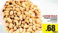Virginia Roasted Peanuts - Loose Bulk