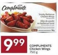 Compliments Chicken Wings 750 g
