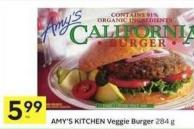 Amy's Kitchen Veggie Burger