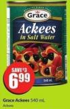 Grace Ackees 540 mL