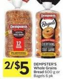 Dempster's Whole Grains Bread