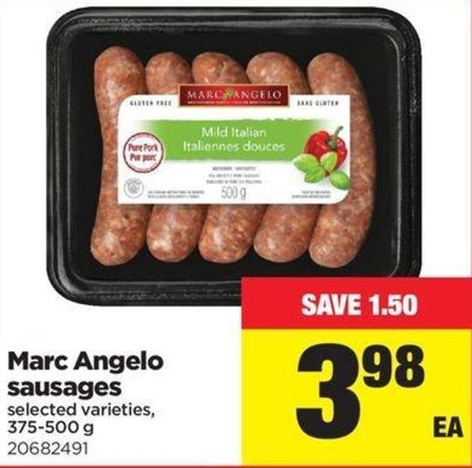 Marc Angelo Sausages - 375-500 G