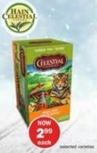 Hain Celestial Herbal Tea