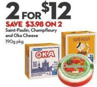 Saint-paulin - Champfleury  and Oka Cheese 190g