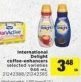 International Delight Coffee-enhancers - 946 mL