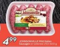 Johnsonville Mild Italian Sausages