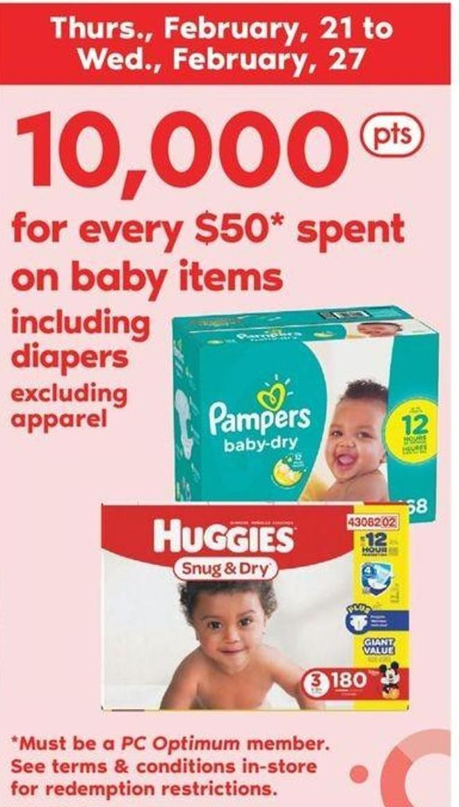 Baby Items Including Diapers