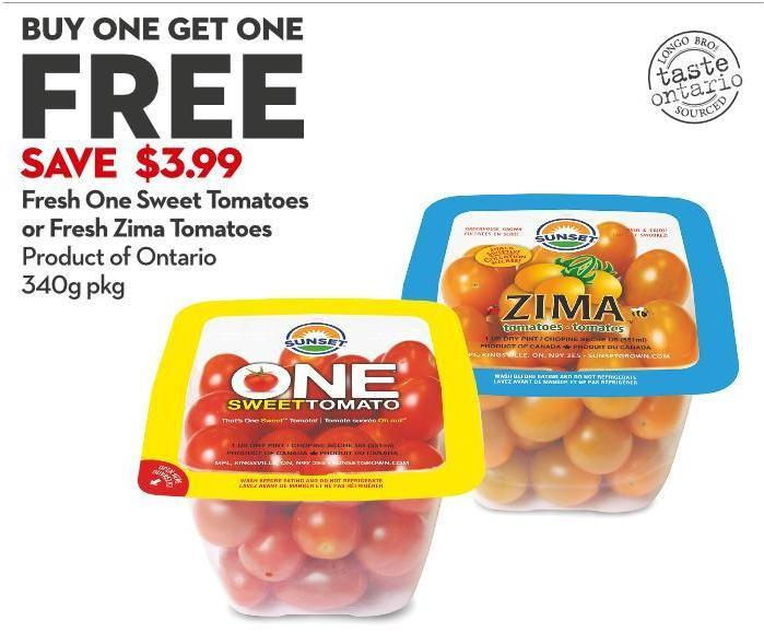 Fresh One Sweet Tomatoes or Fresh Zima Tomatoes