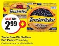Tenderflake Pie Shells or Puffpastry 255-454 g