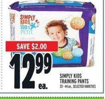 Simply Kids Training Pants