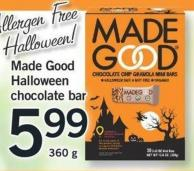 Made Good Halloween Chocolate Bar - 360 G