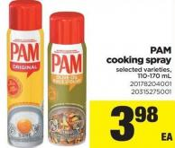 Pam Cooking Spray - 110-170ml