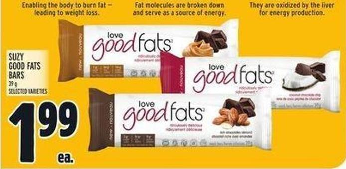 Suzy Good Fats Bars