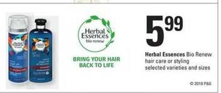 Herbal Essences Bio:renew Hair Care Or Styling