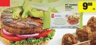 PC Meatless Burger - 568 g