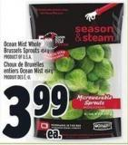 Ocean Mist Whole Brussels Sprouts 454 g