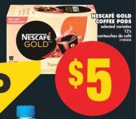 Nestle Nescafé Gold Coffee PODS - 12's