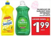 Palmolive Or Sunlight Dish Detergent