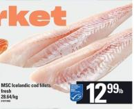 Msc Icelandic Cod Fillets