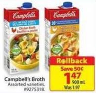 Campbell's Brothrollback
