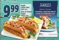 Toppits Lobster Meat