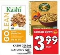 Kashi Cereal Or Nature's Path